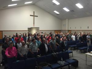 Men Retreat Worship 1