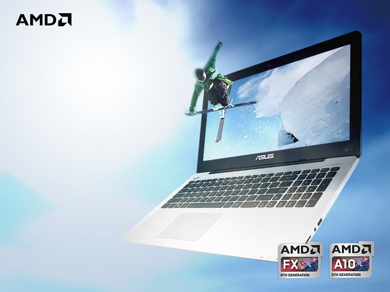 ASUS X555DG: Notebook APU Generasi Ke-6 dengan Desain Premium