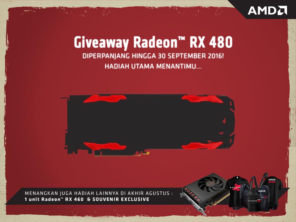 Teaser hadiah Giveaway RX 480 DEVIL