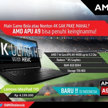 Lenovo IdeaPad 110 A9-9400