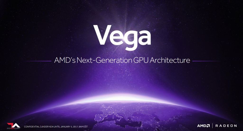 Radeon Vega The Next AMD GPU Architecture