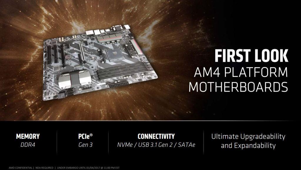 motherboard AM4 Ryzen