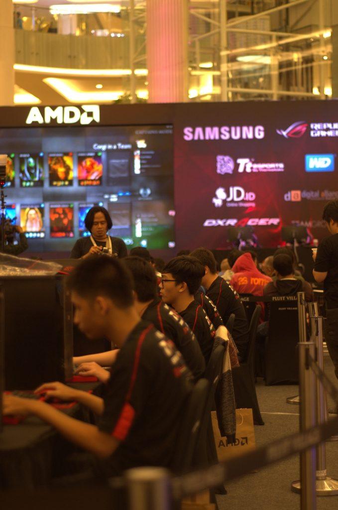 AMD eSports Indonesia DoTA 2 Championship