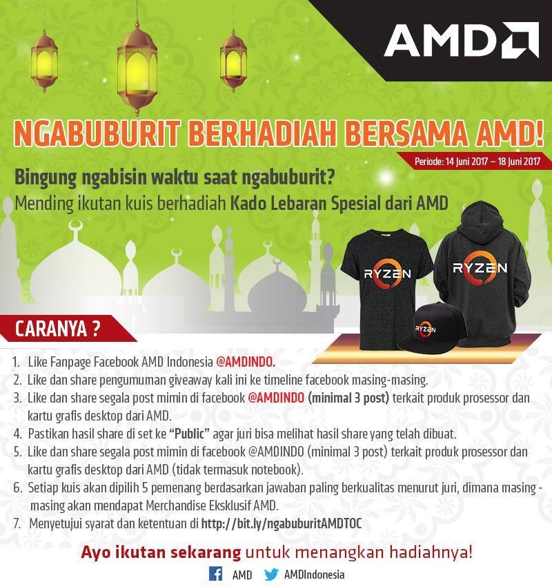 Lebaran Bareng AMD dan Kuis Ramadhan