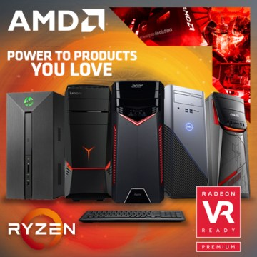 PC Desktop AMD Ryzen
