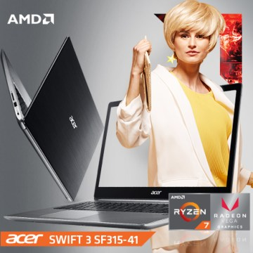 Acer Swift 3 Laptop Ultrathin Pertama di Indonesia Bertenaga Prosessor Ryzen