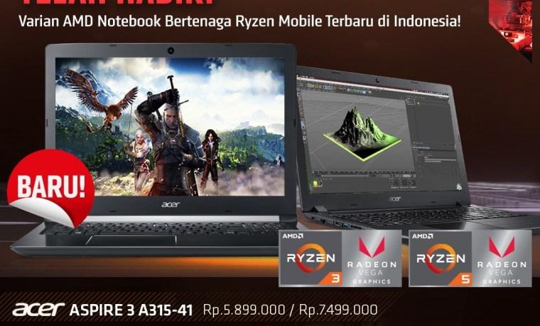 Acer Aspire 3 A315-41 Bertenaga Ryzen™ Mobile: Laptop 5