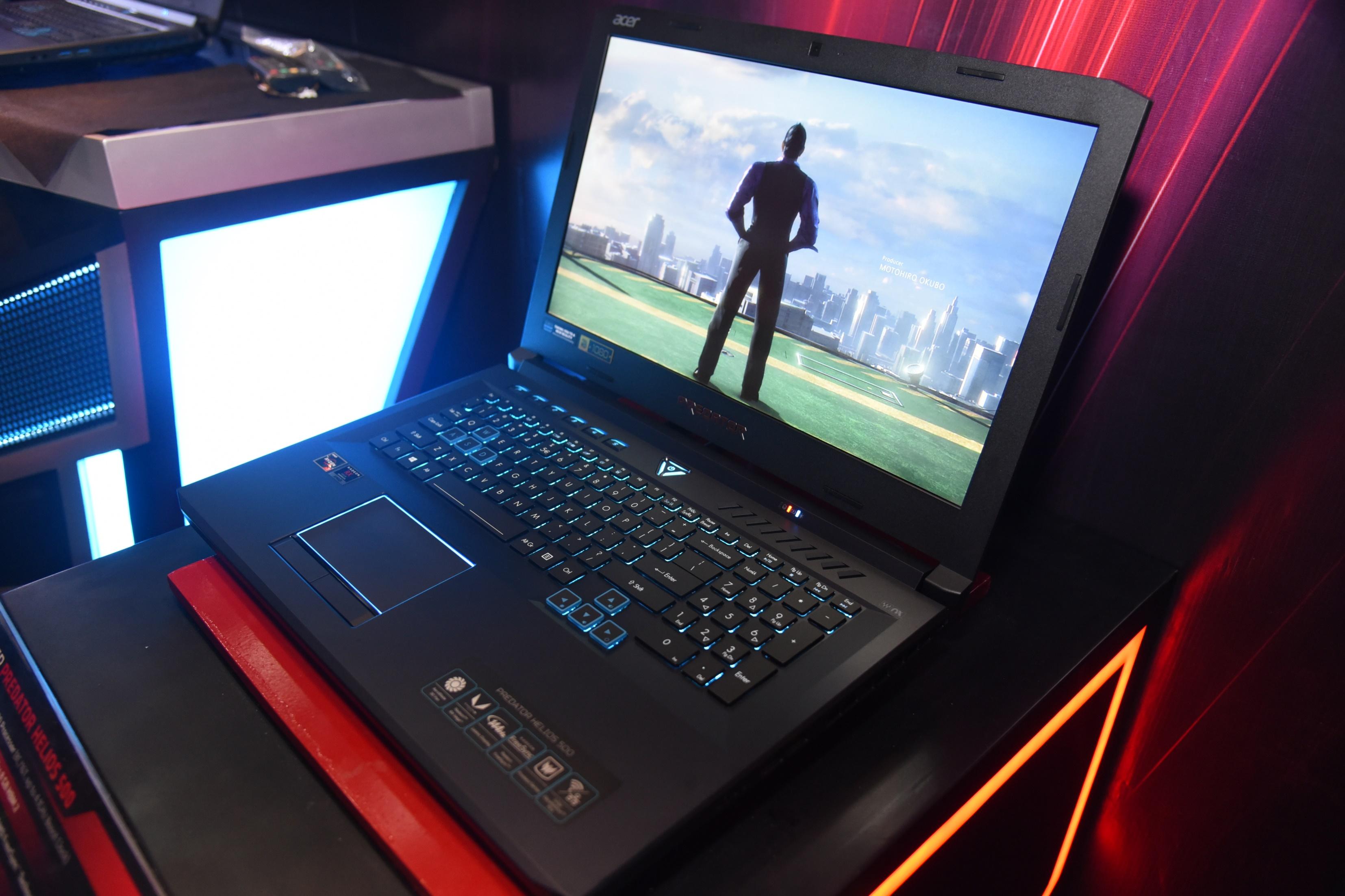 Launching Acer Predator Helios 500