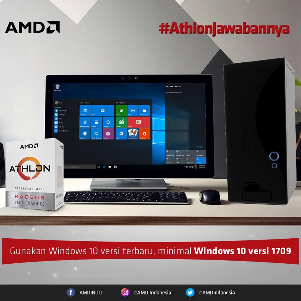 pc windows 10 athlon