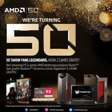 AMD 50th Anniversary