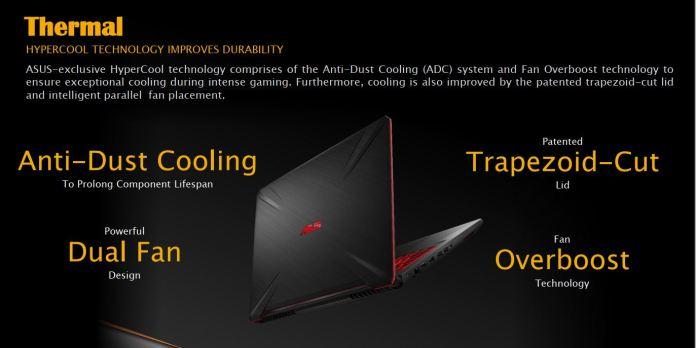 ASUS TUF Gaming FX 505/705DY