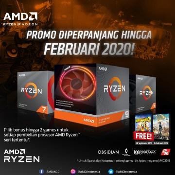 Perpanjangan promo Ryzen
