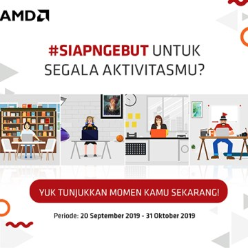 Kompetisi #SiapNgebut AMD