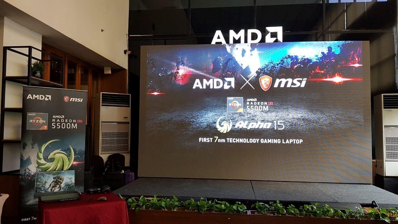 MSI Alpha 15 Launching