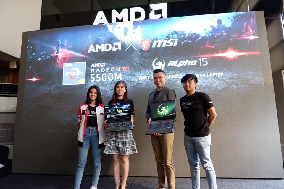 MSI Alpha 15 Showcase