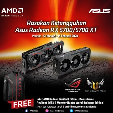 Intro Promo ASUS RX 5700 Series
