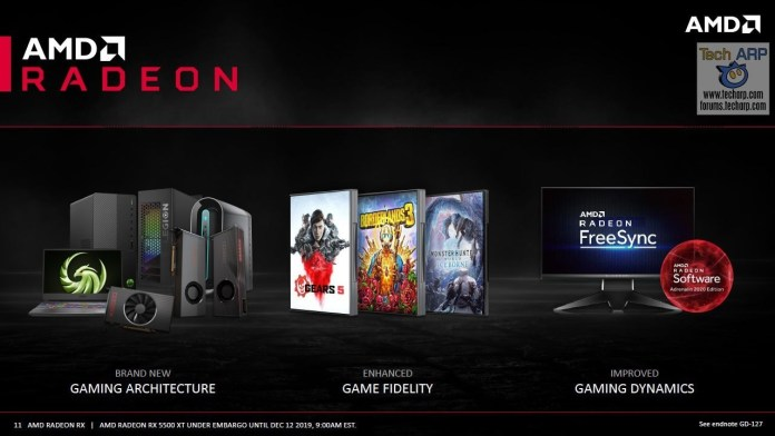 Kesimpulan Radeon™ RX 5500XT