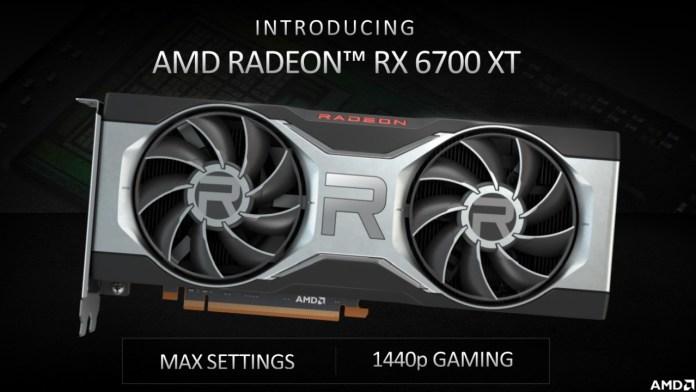 Intro AMD Radeon RX 6700 XT