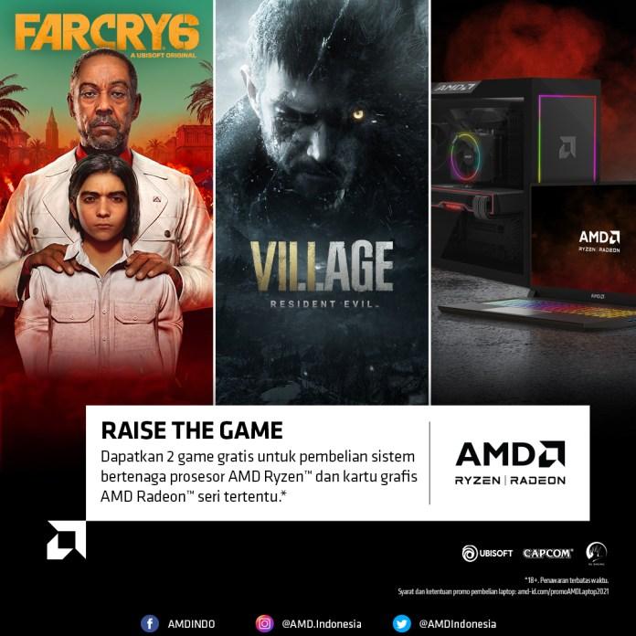 Promo Laptop Far Cry Resident Evil 2021