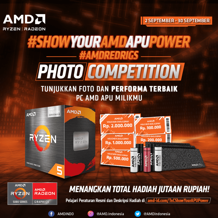 SHOW YOUR AMD APU POWER