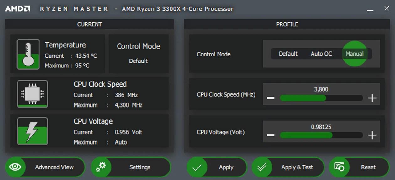 オーバークロック制御用AMD Ryzen Masterユーティリティ | AMD