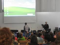Charla Universidad de Murcia -neurólogo Dr. Meca La Llana.