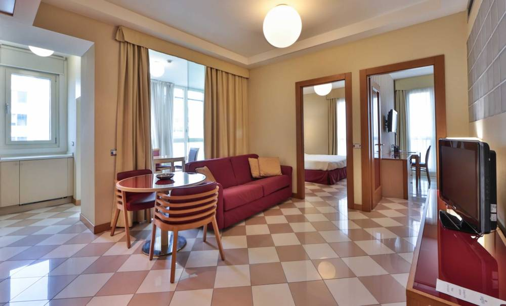Hotel close to eni headquarters: short and long term