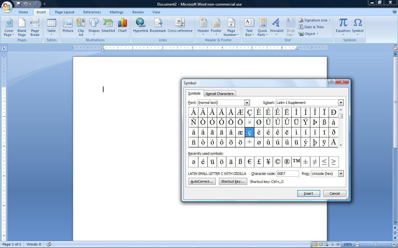 Französische Buchstaben In Microsoft Word Schreiben