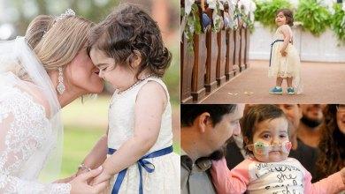 Photo of 3χρονη νίκησε τον καρκίνο και έγινε παρανυφάκι στον γάμο της δότριας μυελού των οστών της
