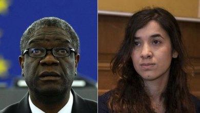 Photo of Νόμπελ Ειρήνης κατά της σεξουαλικής κακοποίησης: Ένας γυναικολόγος και μια πρώην σκλάβα του ISIS οι μεγάλοι νικητές