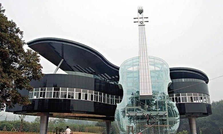 Ένα μουσικό σχολείο στην Κίνα είναι... μουσικό όργανο! - ΑμεΑ Care