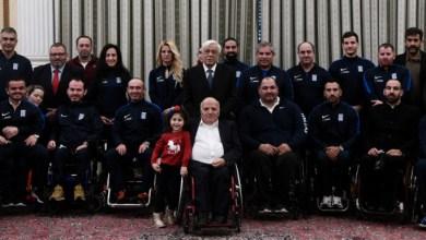 Photo of Στο Προεδρικό αθλητές με αναπηρία -Παυλόπουλος: «Αποτελείτε παράδειγμα για όλους»