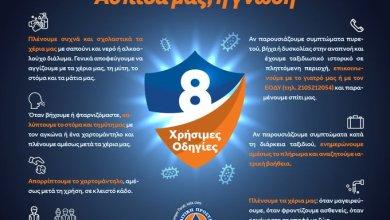 Photo of Κορωνοϊός: Οι οκτώ οδηγίες από τη Γενική Γραμματεία Πολιτικής Προστασίας