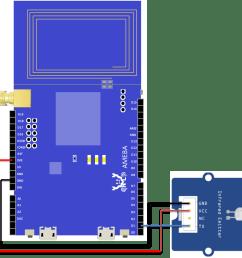 ameba arduino rtl8195 rtl8710 ir infra red receiver and xantech ir kit ready ir emitter wiring [ 1109 x 1067 Pixel ]