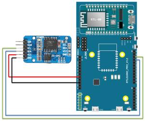 Ameba Arduino: [RTL8195] [RTL8710] RTC – Use NTP to rectify DS1307DS3231 RTC – Realtek IoT
