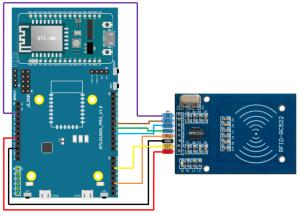Ameba Arduino: [RTL8195] [RTL8710] RFID – Using RFID RC522 module as RFID Reader – Realtek IoT