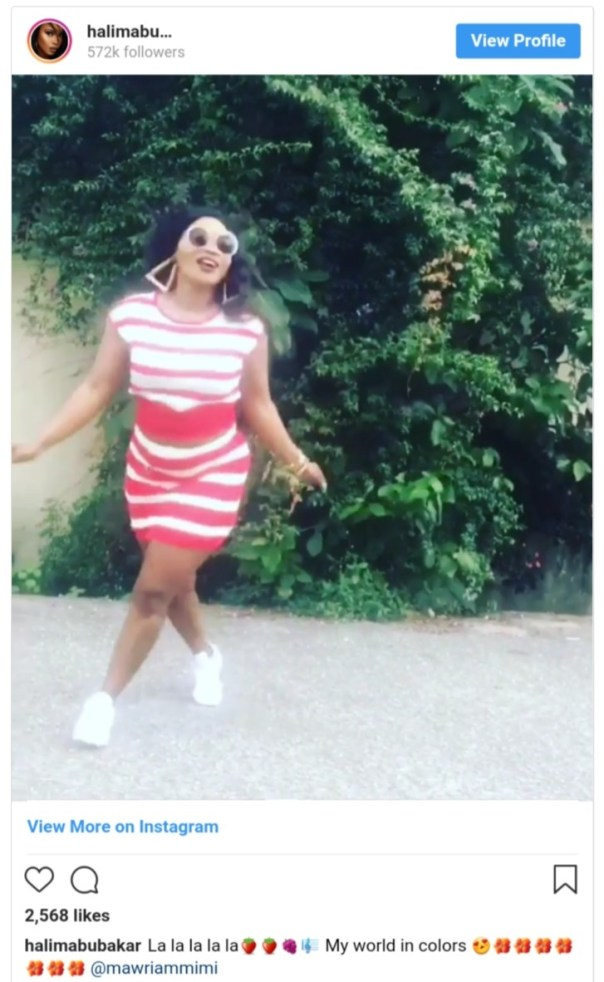 Your Teeth Has A Bridge A Car Can Pass — Halima Abubakar (2)