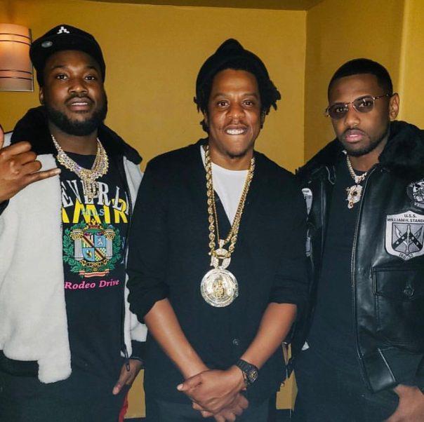 Jay-Z Gifts Meek Mill An Original Roc-A-Fella Chain (2)