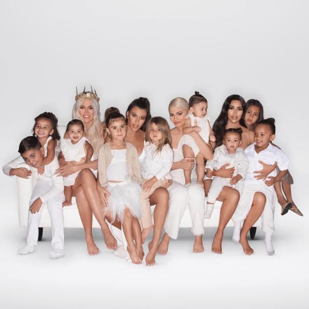 Kardashian Christmas Card 2018 (2)