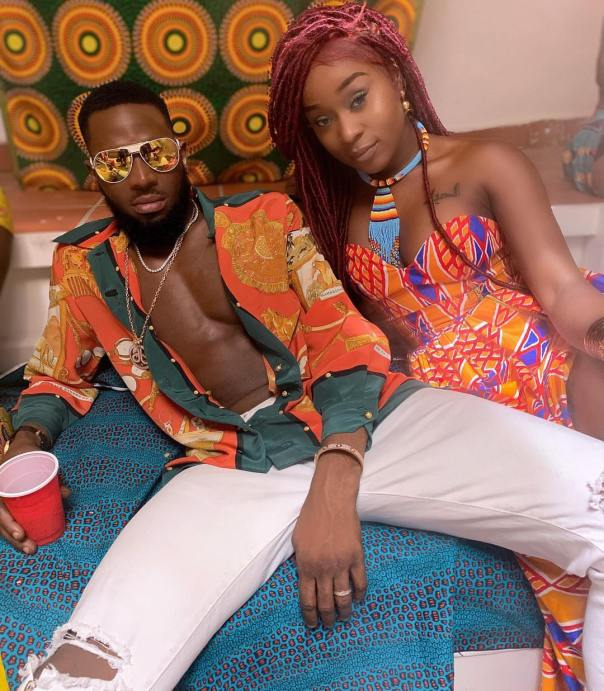 D'banj Pictured With Ghanaian Actress Efia Odo (2)