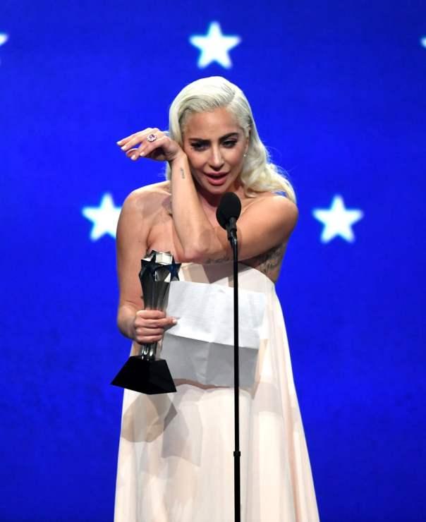 Lady Gaga 2019 Critics' Choice Awards (2)