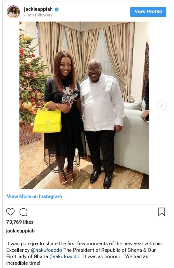 Jackie Appiah New Year Photos With Akufo-Addo And Wife Rebecca (2)