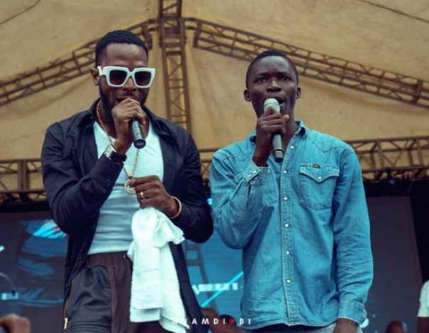D'Banj And Governor Ambode Take 26-Year-Old Joseph David Off The Street At Lagos City Marathon (2)