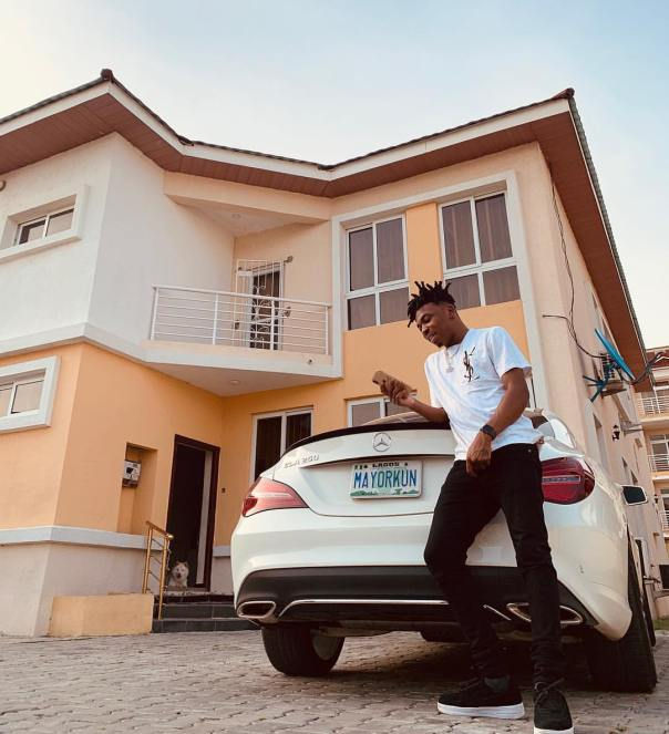 Mayorkun Buys Brand New Mercedes-Benz Ahead Of His 25th Birthday (2)