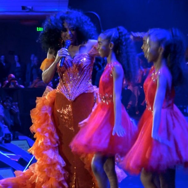 Diddy's Daughters Backup Dancers Diana Ross' 75th Birthday Celebration (5)