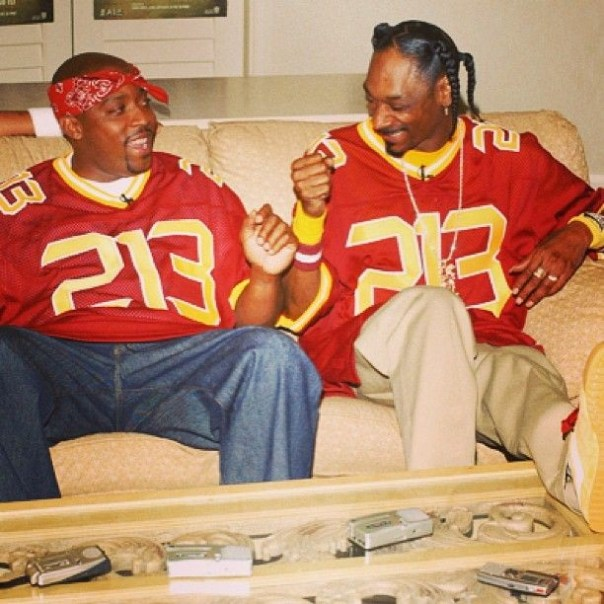 Snoop Dogg With Nate Dogg