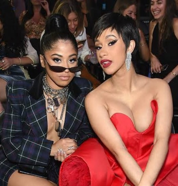 Cardi B With Sister Hennessy Carolina