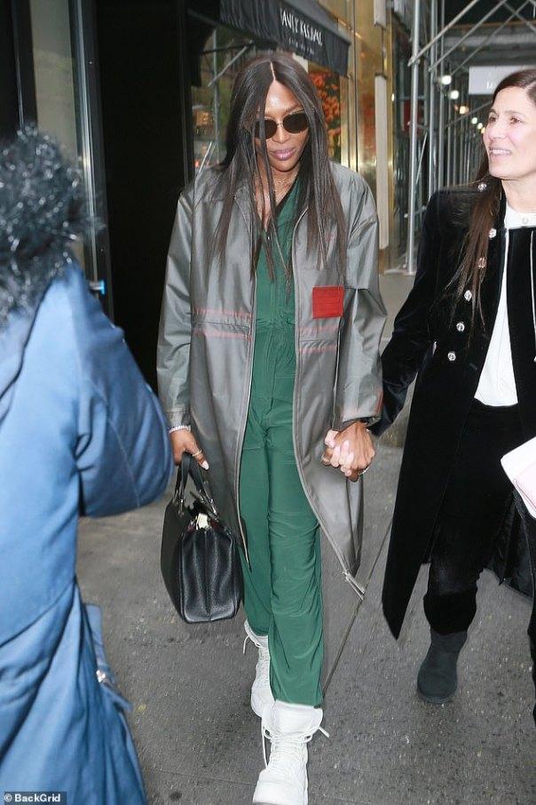Naomi Campbell Waterproof Khaki Green Jumpsuit (2)
