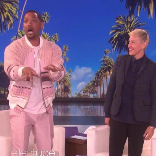 Will Smith Ellen DeGeneres Show