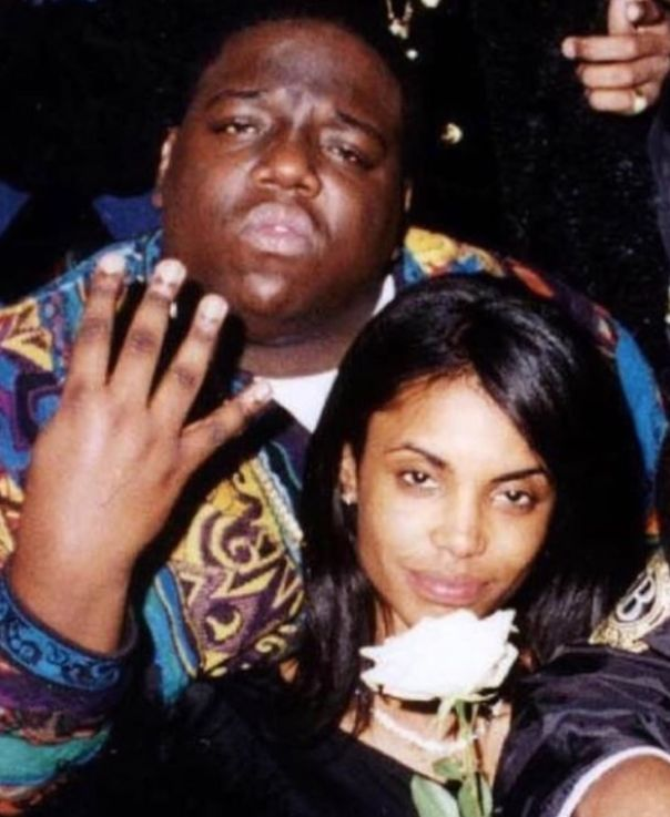 Rare Notorious B.I.G. With Kim Porter Photo (2)